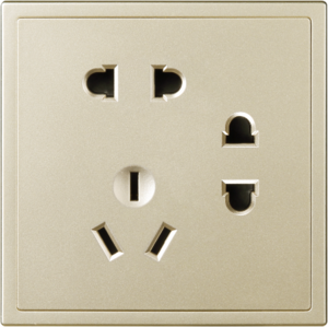 A7017 二、二、三极插座