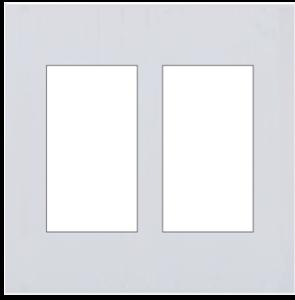 A8-033 120型六位面板(无边框)