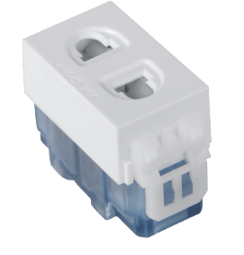Q9-001 二极插座10A